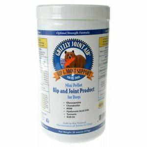 Grizzly Joint Aid Mini Pellet Hip & Joint Product for Dogs 20 oz