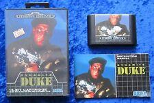 Dynamite Duke, OVP Anleitung, SEGA Mega Drive Spiel