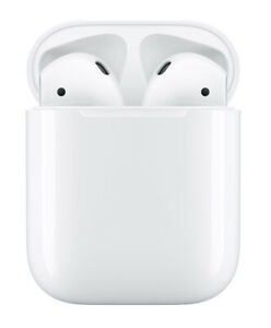 Apple AirPods with Charging Case - White