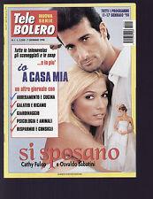TELE BOLERO 1/1998 CATHY FULOP OSVALDO SABATINI CYNTHIA KLITBO RUDDY RODRIGUEZ