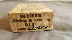Herters RCBS Compatible 22 Hornet Reloading Dies 2 Die Set