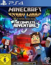 PlayStation 4 Minecraft STORY MODE DAS KOMPLETTE ABENTEUER * NEU