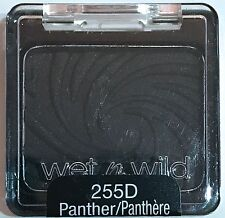 Wet n Wild Coloricon Black Eye Shadow Single # 255D Panther NEW SEALED