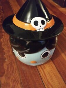 Hyde and Eek! Boutique Candy Bowl - Witch/Girl NEW - Halloween - Target