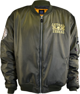 NEW LETHAL THREAT Bombs Away Jacket