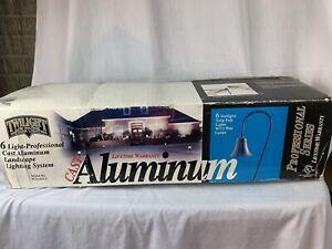TWILIGHT CAST ALUMINUM OUTDOOR 6 LIGHTS LIGHTING LOW VOLTAGE SYSTEM LANDSCAPE