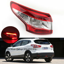 Left Outer Tail Light For Nissan Qashqai 2014 2015 2016 Rear Lamp Driver Blub LH