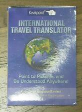 Kwikpoint international translator. Pocket-Sized. Brand New.