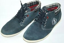 U.S.Polo Assn Men's Vintage Sneakers Suede/Fabric Casual Blue Shoes Size 42