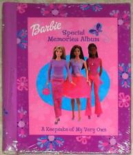 BARBIE ~ SPECIAL MEMORIES ALBUM ~ A KEEPSAKE OF MY VERY OWN ~ SCRAPBOOK