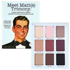 NEW theBalm Meet Matt(e) Trimony Maatte Eye Shadow Palette The Balm SEALED
