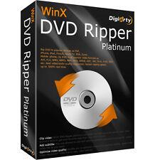 WinX DVD Ripper Platinum 8.5 (1 PC) Genuine License!!!