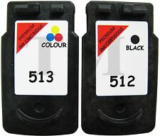 PG-512 & CL-513 Black & Colour Multipack Ink to fit Canon Pixma MP270 Printers