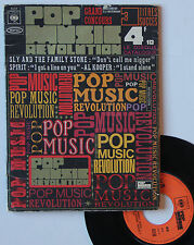 "Vinyle 45T Various Artists ""Pop music revolution"" + booklet"