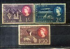 Kenya Uganda Tanganyika KUT Old Stamps Lot 3