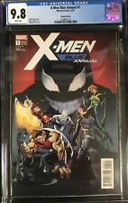 X-Men Blue Annual #1 CGC 9.8 Pasqual Ferry 1:25 Incentive Variant Edition!