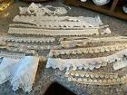 +Lot+of++Antique+Victorian+Lace+Hand+Crocheted+Trim+Pieces