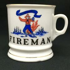 "Collectible Vintage PRICE Shaving Mug FIREMAN ""Ever Alert"""