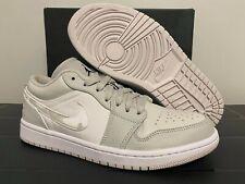 Nike Jordan 1 Low White Camo Grey DC9036-100 Men Size 8-13