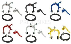 ORIGINAL BICYCLE MX ALLOY FRONT & REAR BRAKE USED FOR BMX BIKES *ALL COLORS*