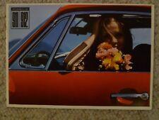 1966 / 1967 Porsche 911 DELUXE Brochure, Prospekt 3 Languages RARE! Awesome L@@K