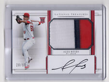 # /99 RC Patch Auto!  ** Alex Reyes **  2017 National Treasures ROOKIE Cardinals