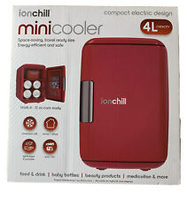 Ion chill Mini cooler fridge space saving travel ready size energy efficient and