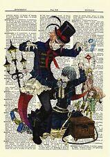 Drocell & Ciel Black Butler Dictionary Art Anime Poster Kuroshitsuji Picture