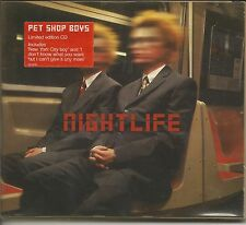 PET SHOP BOYS - Nightlife - CD LIMITED EDITION DIGIPACK 1999 MINT CONDITION