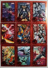 2014 Marvel Universe 2: Captain America & Thor RED PARALLEL SETS (1:144/5 Cases)