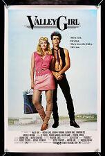 VALLEY GIRL * CineMasterpieces ORIGINAL MOVIE POSTER ROLLED 1983