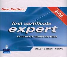 Longman FCE EXPERT /First Certificate/ Teacher's Audio CD Pack NEW EDITION @New@