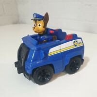 Paw Patrol Police Rescue Chase Pup Figure And Vehicle