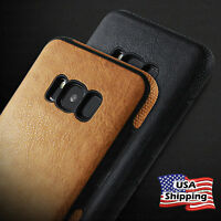 Slim Luxury TPU Ultra Slim Leather Case Cover For Samsung Galaxy S10 Plus Note 9