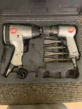 "Campbell Hausfeld 2pc Set, 1/2"" Impact Wrench #TL1002 and Air Hammer #TL1003"