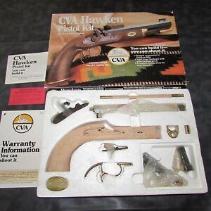 Vintage CVA Hawken Black Powder Pistol Kit NOS LOOK