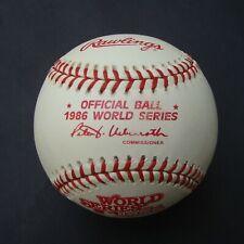 1986 RAWLINGS OFFICIAL WORLD SERIES BASEBALL NEW YORK METS