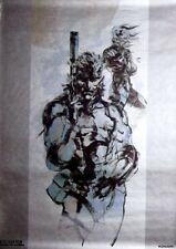 METAL GEAR SOLID 2 SUBSTANCE ULTIMATE WHITE SORTER PREORDER POSTER RARE