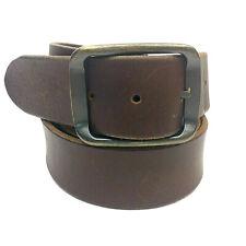 L Auto-Lock belt Men/'s Quick lock belt BN Men/'s Navy Blue Leather Dress Belt,