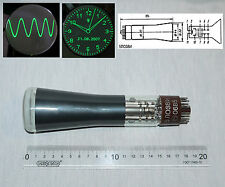 "5LO38I (5ЛО38И) small ""2"" vintage Russian Oscilloscope Green Electrostatic CRT"