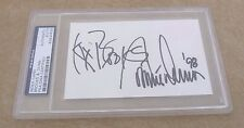 Brooks & Dunn 1998 Signed Autographed 3x 5 Index Card PSA Certified & Slabbed