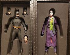 "Enterbay : The Dark Knight "" BOTH!! "" ""BATMAN & THE JOKER""1/4 Scale  Masterpiece"