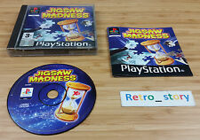 Sony Playstation PS1 Jigsaw Madness PAL