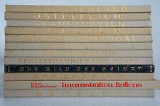Konvolut 12 Bücher Heimatbücher Grichenland Italien Deutschland Frankreich BK 51