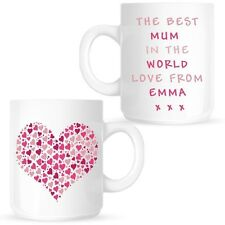 Best Mum In The World Personalised Mug Cup Birthday Mothers Day Christmas Gift