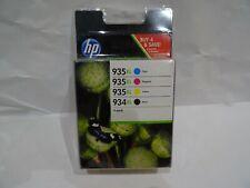 Cartouche d'encre HP 934 XL ou 935 XL Officejet Pro Black, cyan magenta yellow