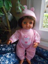 au choix combinaison+bonnet compatible poupée  raynal tinnie corolle,gégé,35cm
