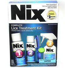 Nix Permethrin Complete Lice Elimination Bonus Kit With Lice Control Spray 2019