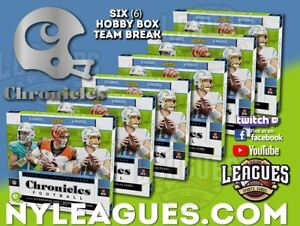 2020 Chronicles Football 6 Hobby Box Break | #M1