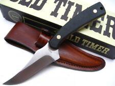 Schrade Old Timer Large Sharpfinger Full Tang Fixed Knife + Sheath 152OTL